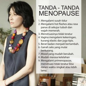 Tanda-tanda Menopause