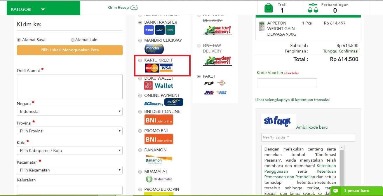 Bayar Visa (1)