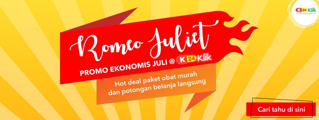 romeo juliet, promo ekonomis