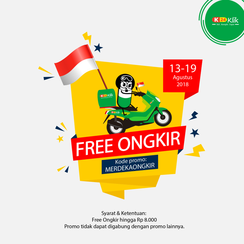 Promo Kemerdekaan 2018 Diskon 73 Free Ongkir Dan Flash Sale
