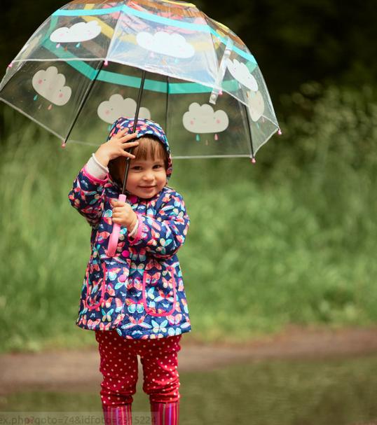 Jaga Kesehatan Anak di Musim Hujan