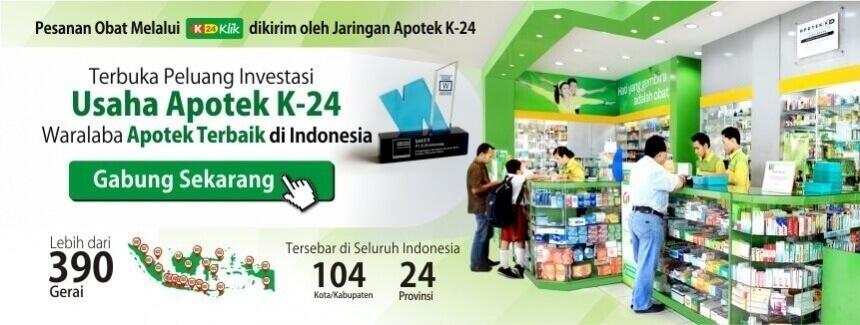 apotek online - Iklan Franchise