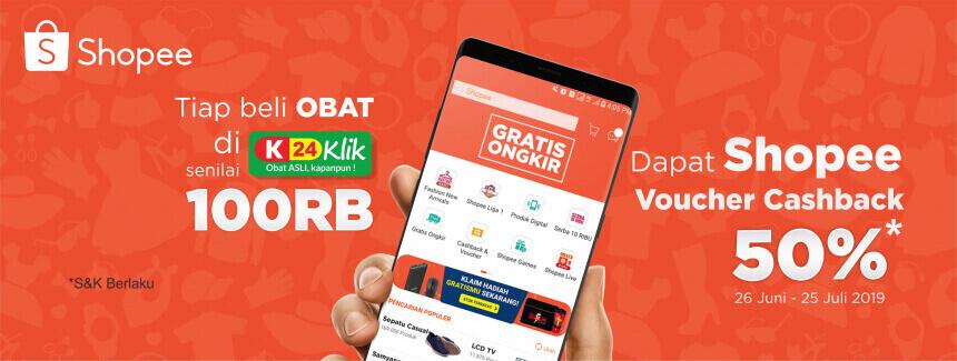 apotek online - SHOPEE VOUCHER CASHBACK