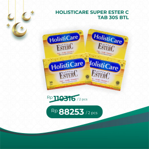 Apotek Online - HOLISTICARE SUPER ESTER C TAB 30S BTL (2 PCS)