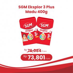 Apotek Online - SGM EKSPLOR 3 PLUS MADU 400G (2 PCS)