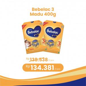 Apotek Online - BEBELAC 3 MADU 400G (2 PCS)