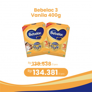 Apotek Online - BEBELAC 3 VANILA 400G (2 PCS)