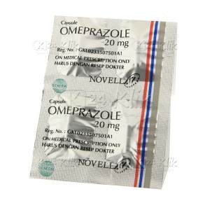 OMEPRAZOLE NOVELL 20MG CAP 30S