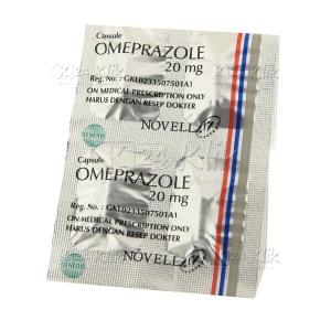 JUAL OMEPRAZOLE NOVELL 20MG CAP 30S