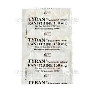TYRAN 150MG TAB