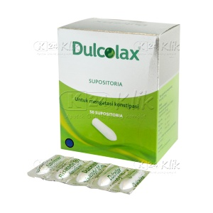 JUAL DULCOLAX SUPP ADULT 50'S