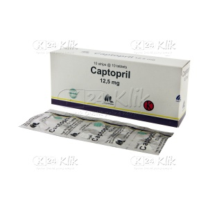 CAPTOPRIL INDOFARMA 12,5MG TAB