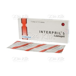 INTERPRIL 5MG TAB