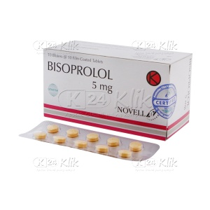 BISOPROLOL FUMARATE 5MG TAB NOVELL