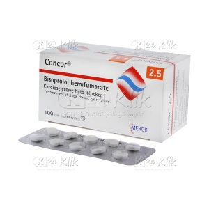 CONCOR 2,5MG TAB 100/BOX