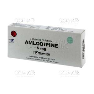 AMLODIPINE BERNO 5MG TAB
