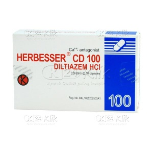HERBESSER CD 100MG TAB