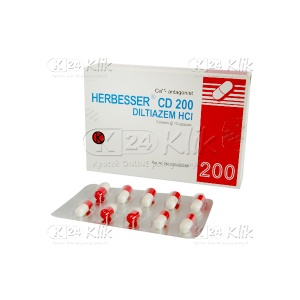 HERBESSER CD 200MG TAB