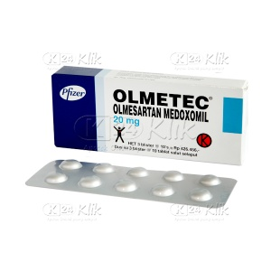 OLMETEC 20MG 30'S