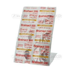 BRAINACT ORAL 500MG TAB