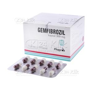 GEMFIBROZIL 300MG CAP