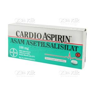 CARDIO ASPIRIN 100MG TAB