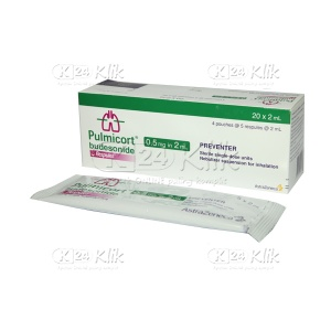 PULMICORT RESP 0,25MG/ML (0,5MG IN 2ML)