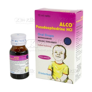 ALCO ORAL DROP 15ML