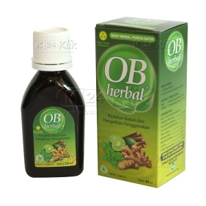 JUAL OB HERBAL 60ML