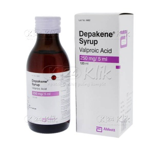 DEPAKENE SYR 120ML 250MG/5ML