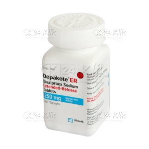 DEPAKOTE ER 250MG TAB 100'S/BOX