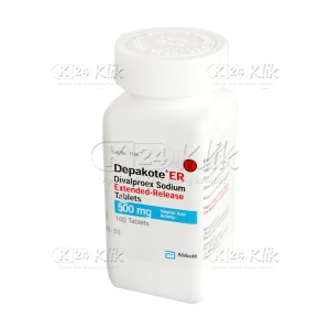 DEPAKOTE ER 500MG TAB 100'S/BOX