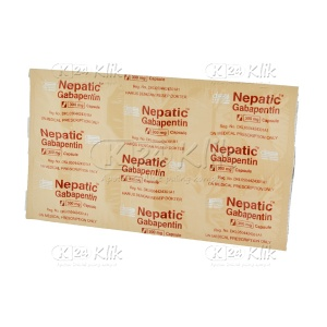NEPATIC 300MG CAP