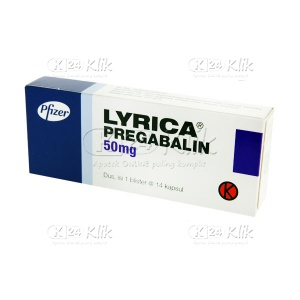 LYRICA 50MG CAP