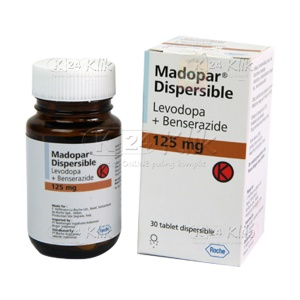 MADOPAR DISPERSIBLE TAB 30'S