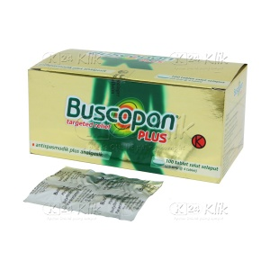 BUSCOPAN PLUS TAB