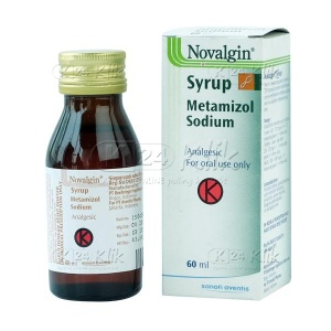 NOVALGIN SYR  60ML 250MG/5ML
