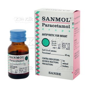 SANMOL DROP 15ML 60MG/0.6ML
