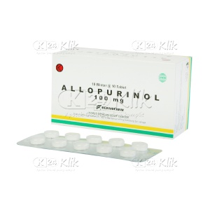 ALLOPURINOL BERNO 100MG TAB