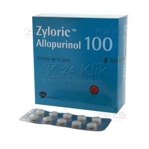 JUAL ZYLORIC 100MG 200'S TAB