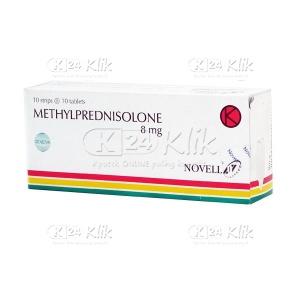 METHYLPREDNISOLON NOVELL 8MG TAB