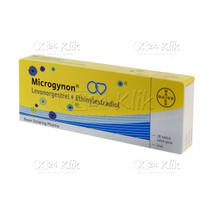 MICROGYNON TAB 25 STRIP