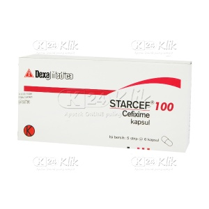 STARCEF 100MG CAP