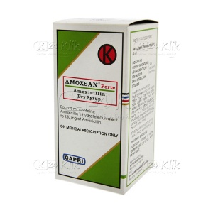 AMOXSAN F D.SYR 60ML 250MG/5ML