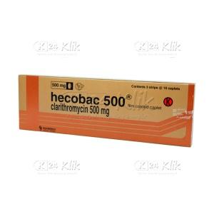 HECOBAC 500MG TAB