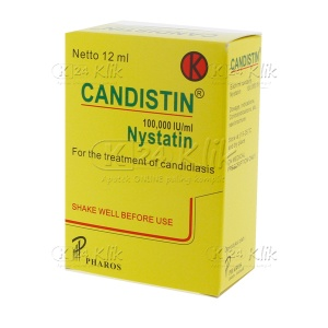 CANDISTIN SUSP DROP 12ML