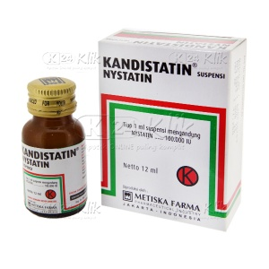 KANDISTATIN DROP 100.000IU/ML 12ML