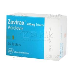 ZOVIRAX 200MG TAB