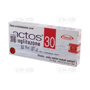 ACTOS 30MG TAB