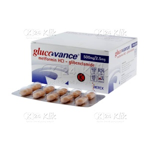 GLUCOVANCE 500MG/2,5MG TAB